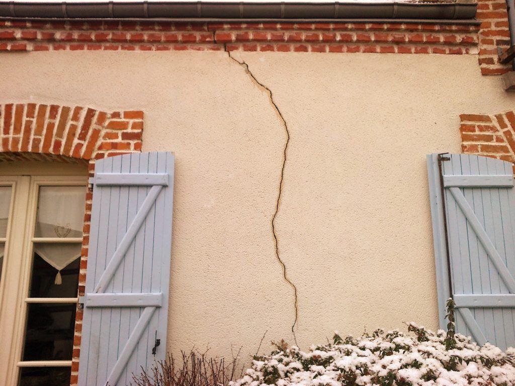 exemple de fissure pour une maison