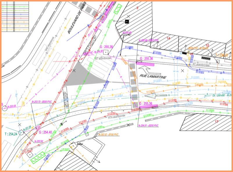 exemple de carte réseaux